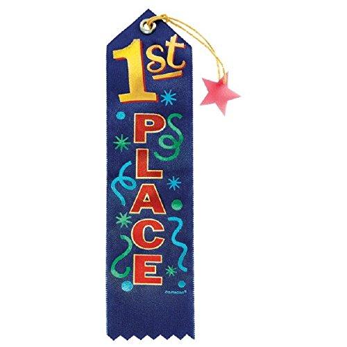 Amscan 218194 Award Ribbons, One Size,