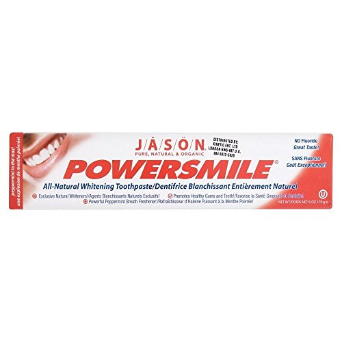 ics Powersmile Toothpaste (170g) - Pack of 2 (Jason Gel Body Powder)