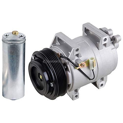 (AC Compressor w/A/C Drier For Volvo S60 V70 S80 XC70 XC90 - BuyAutoParts 60-86312R2 NEW)