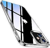 TORRAS iPhone 12 用 ケース iPhone 12 Pro 用 ケース 9Hガラス背面 TPUバンパー 高透明 日本旭硝子 三層構造 黄変防止 耐衝撃 ストラップ穴付き 2020年6.1インチ アイフォン12Pro用12用カバー