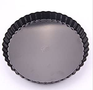 Ancdream Non-Stick Removable Loose Bottom Quiche Pan, Round Tart Quiche Pan