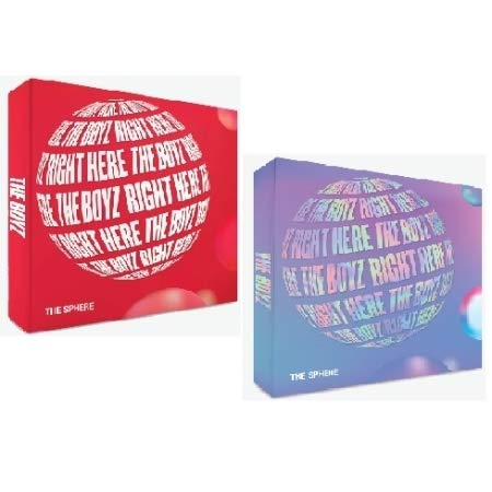 THE BOYZ [THE SPHERE] 1st Single Album RANDOM CD+84p Photo Book+1p Post Card+1ea Frame+1p Photo Card+1p Sticker+Tracking Number K-POP SEALE