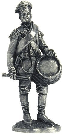 scale 1//32 The drummer of the Pavlovsky Regiment Tin Toy Soldiers Metal Sculpture Miniature Figure Collection 54mm R32