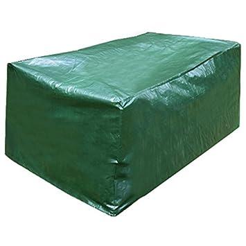 WOLTU cubierta de muebles de jardín lona alquitranada de cubrimiento funda protectora cubierta de asiento angular GZ1170 122x112x98cm