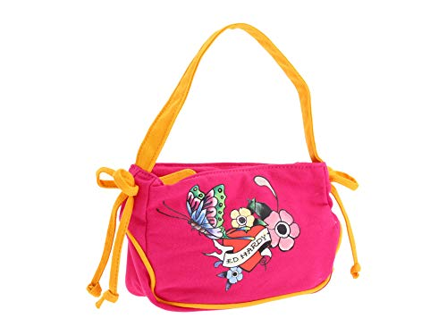 Ed Hardy Girls Scarlett Shoulder Bag- Pink ()