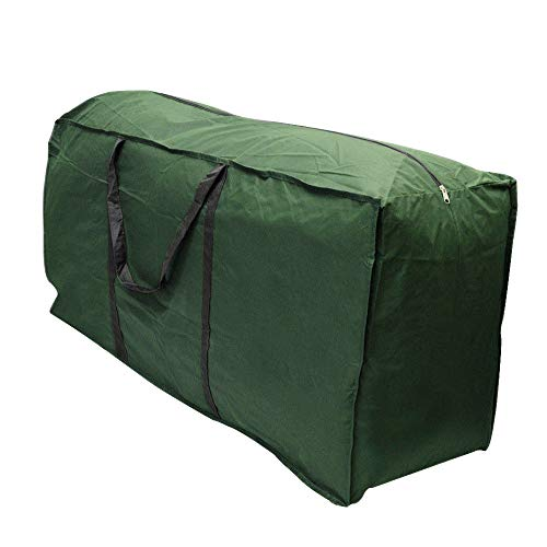 Linkool Outdoor Patio Furniture Seat Cushions Storage Bag with Zipper and Handles 68x30x20 Inches Waterproof (Patio Clearance With Cushions Furniture)