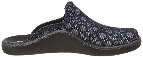 Blu 531 Romika ocean Pantofole Donna Mokasso kombi 134 wqUB0IUO