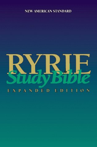 Pdf Ryrie Study Bible Expanded Edition New American