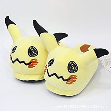 Pokemon Mimikyu Stuffed Plush Slipper Home Decoration Shoes cista home
