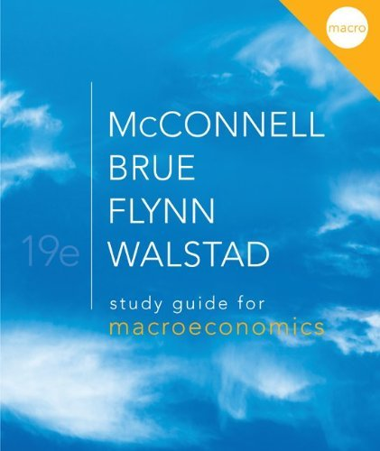 Download By William Walstad - Study Guide for Macroeconomics (19th Edition) (2011-02-09) [Paperback] ebook