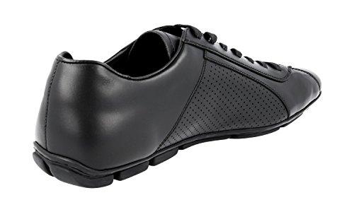 Prada Mens 2ed038 Lz8 F0002 Läder Sneaker