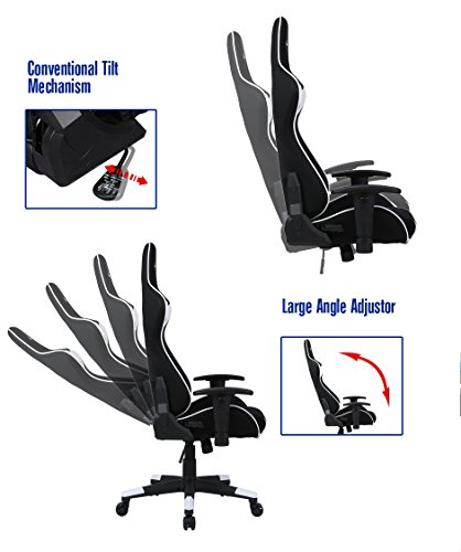 Kingcore 2017 New Ergonomic Design Gaming Chair Stitching