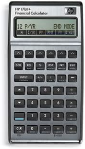 * 17bII+ Financial Calculator, 22-Digit LCD 41T1965g0JL