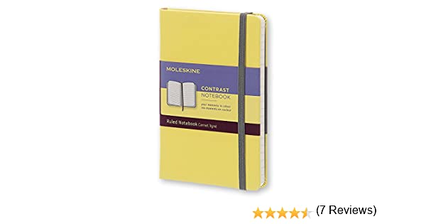 Moleskine LCCTMM710M12 - Cuaderno, pocket 9 x 14, color amarillo ...