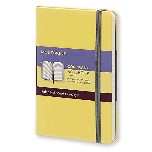 Moleskine Contrast Limited Collection Pocket Ruled Hard Citron - Classic Combinations Color