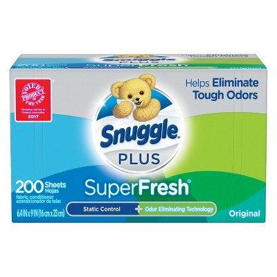 (Snuggle Plus Super Fresh Dryer Sheets - 200ct)