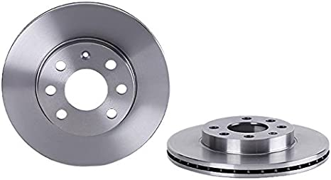 VAUXHALL CORSA C 1.0 1.2 VENTED FRONT BRAKE DISCS AND PADS 2000-2006