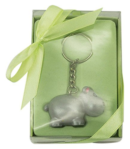 Hippo 4 Party Spin 4 Homeford FHS00KAA007 Key Chain Baby Shower Favors