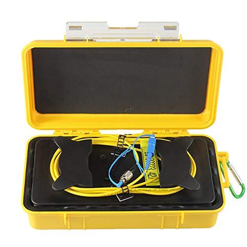 FayOK FC-UPC/SC-UPC Professional Single Mode 2000M OTDR Launch Cable Box Fiber Ring