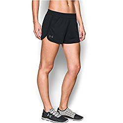 Under Armour Women's Tech Short,blackgraphite, Medium