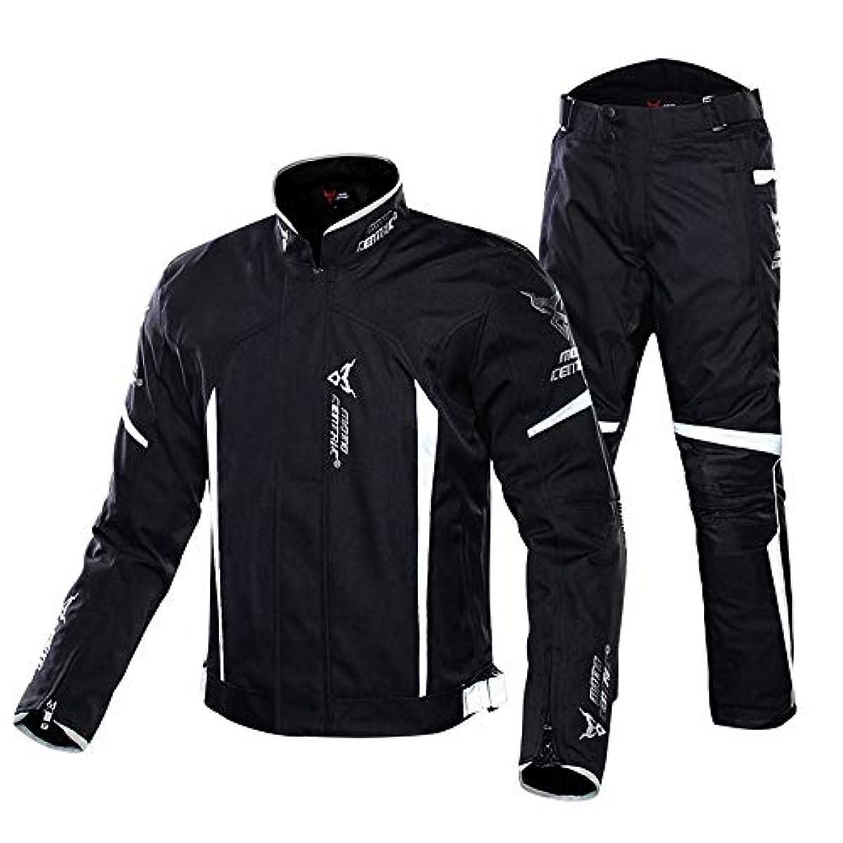 [해외] 오토바이 재킷 상하 세트 맨즈 라이더스 재킷 사계절용 방수 방한방风프로텍터 부착 옥스포드 오토바이 웨어 4색
