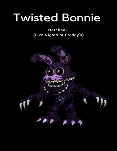 Twisted Bonnie Notebook (Five Nights at Freddy's) ()
