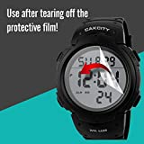 Mens Digital Sports Watch LED Screen Large Face