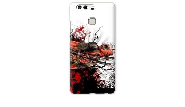 Case Carcasa Huawei P9 Lite Superheros 2 - - deadpool tag B ...