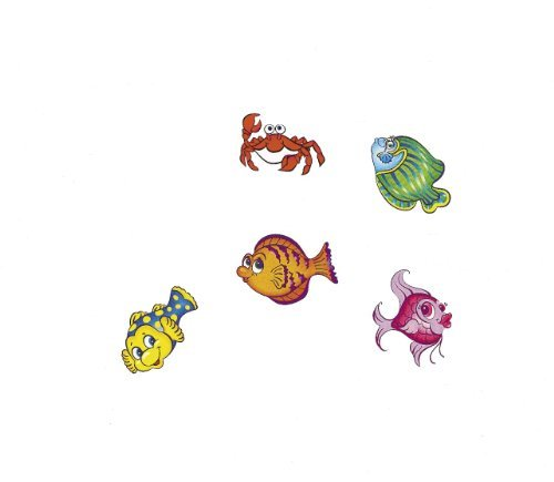 Fun Express Tropical Fish Tattoos (6 dz) -