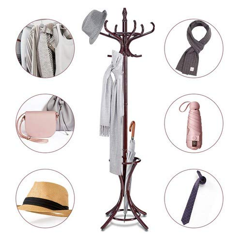 Traditional Umbrella Stand: Headbourne Traditional Floor Hat Coat Umbrella Stand