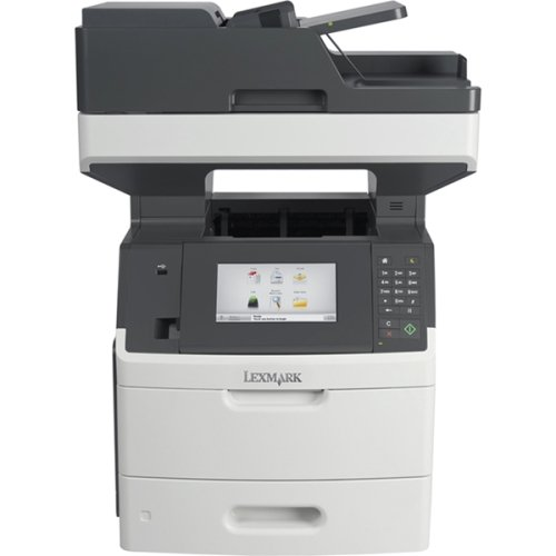 Lexmark Mx710de Laser Multifunction Printer . Monochrome . Plain Paper Print . Desktop . Copier/Fax/Printer/Scanner . 60 Ppm Mono Print . 1200 X 1200 Dpi Print . 60 Cpm Mono Copy . Touchscreen Lcd . 600 Dpi Optical Scan . Automatic Duplex Print . 650 Sheets Input . Gigabit Ethernet . Usb