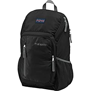 JanSport Impulse Laptop Backpack (Black Triangle Dobby)