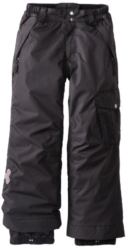 Paul Frank Boy's Skurvy Insulated Pant, Black, X-Small