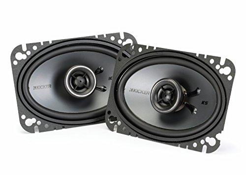 Kicker 41KSC464 4 x 6 KS-Series 150W Coaxial Car Speakers