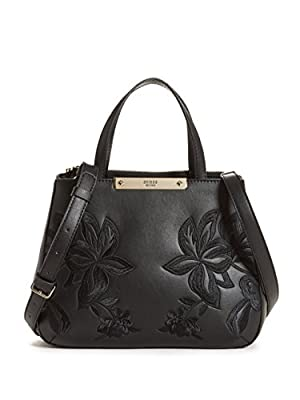 GUESS Britta Embroidered Small Society Satchel