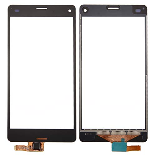 Leya Repair Parts Touch Panel for Sony Xperia Z3 Compact / Z3 Mini(Black) (Color : Black)