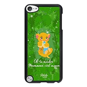 Fashion image DIY for iPod 5 Case Black Disney Le Roi Lion Best Gift Choice For Christmas DSY9800885