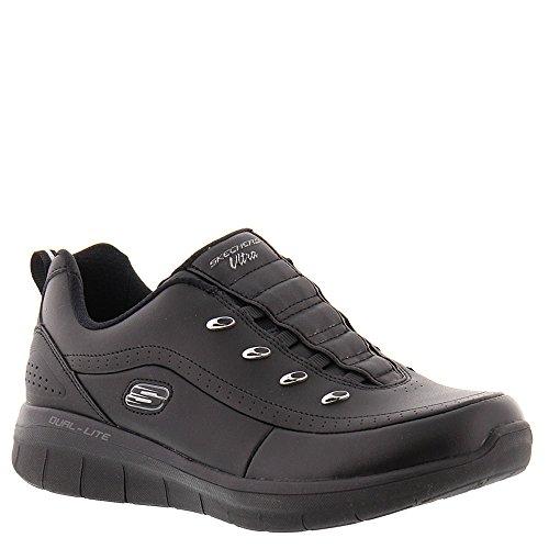 Synergy Focal 0 Sport Skechers Sneaker Black Women's 2 Point 5xA7AtnIqw