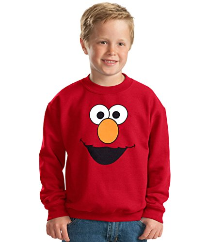 Sesame Street Elmo Face Toddler Sweatshirt-3T (Elmo Star)
