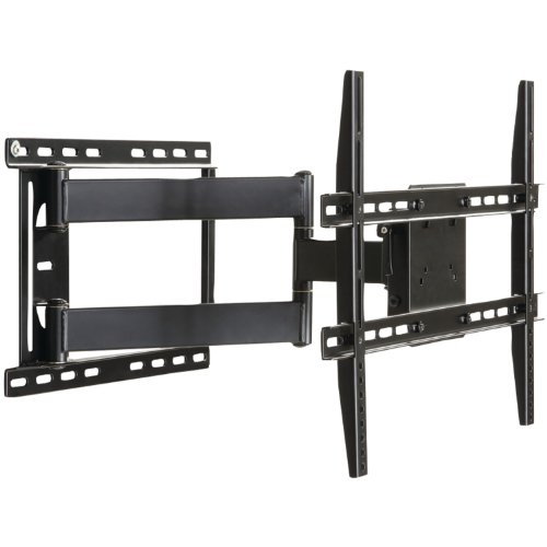 Large Full Motion Articulating Mount For 37 inch to 84 inch Flat Screen TV In Black