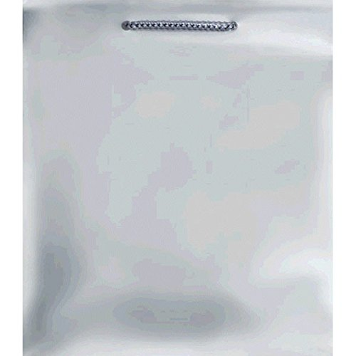 Amscan Party Friendly Extra Large Glossy Gift Bag, Silver, 1