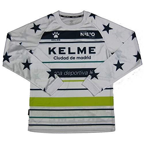 平和的煙突マイルケルメ(KELME,ケレメ)ジュニア用ロングプラクティスシャツ KJ18F162 ホワイト