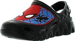 Marvel Boys Spiderman Clog Sandals,Blue-Black-Red,7