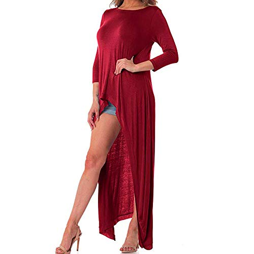 V Red Top Manches Solid DAYLIN Courtes Femme Dcontract Col Chemisier wXdTzUq