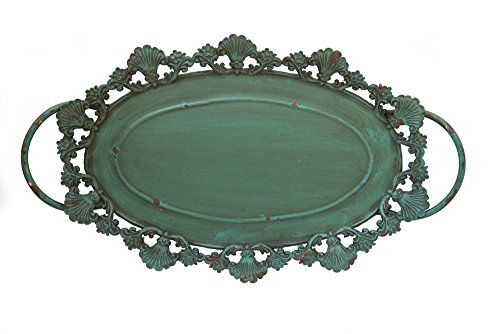 The Queen of Crowns Serving Tray, Wedding Centerpieces, Vanity Tray, Woodland Wedding Decor, Dresser Tray (Dresser Green Rustic)