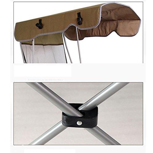 Chaise Pliante Portable De Camping Avec Lombre Pour Les Gens Lourds Plage Pche