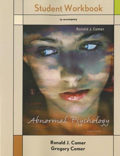 Student Workbook Abnormal Psychology
