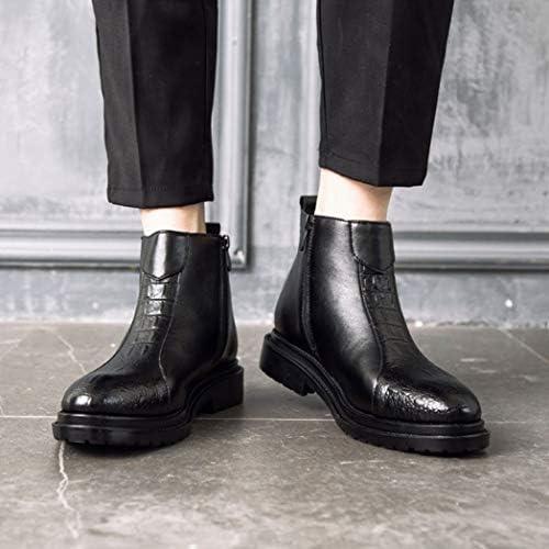 ウィンターブーツ マーティンブーツ レインブーツ スノーシューズ スノーブーツ ブーツ ブラック 黒 ショート メンズ 裏起毛 防寒 暖か 靴 冬 アウトドア メンズ 防滑 ミドル丈 防水 ムートンブーツ