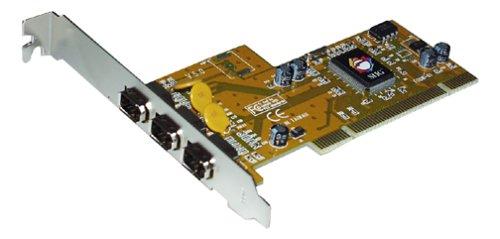 3port 1394 Firewire Pci I/ocard (via Chip) (Set Chip Via Ram)