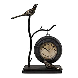 IMAX 16159 Bird And Branch with Hanging Clock